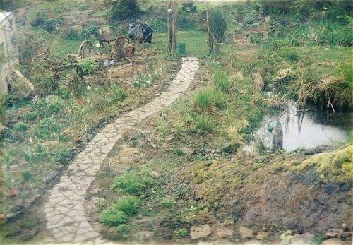 upper garden path 1997