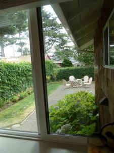 view toward back yard