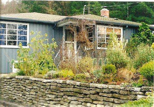 Anne's Bainbridge garden, 2000