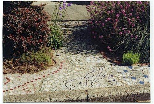 parking strip mosaic