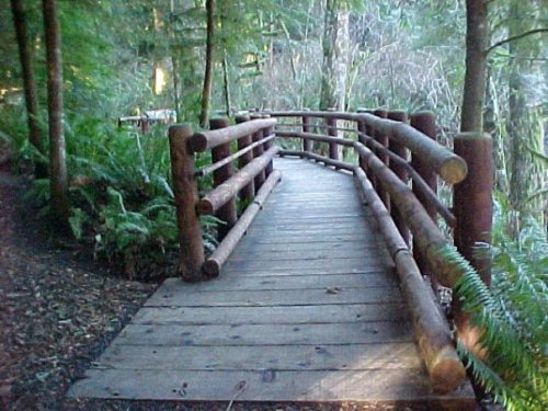 boardwalk at Fort Clatsop