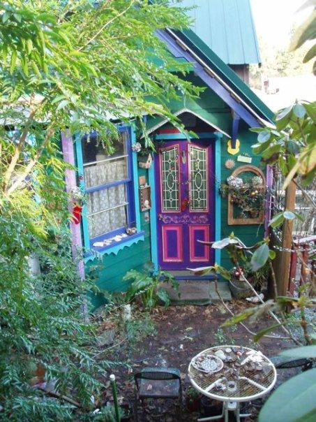 upper patio in December