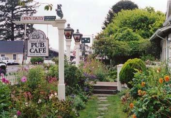 front garden 2001