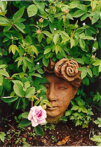 In Hilda's garden