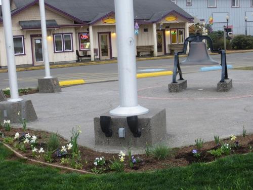Veterans Field garden