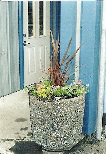 Peninsula Sanitation planter
