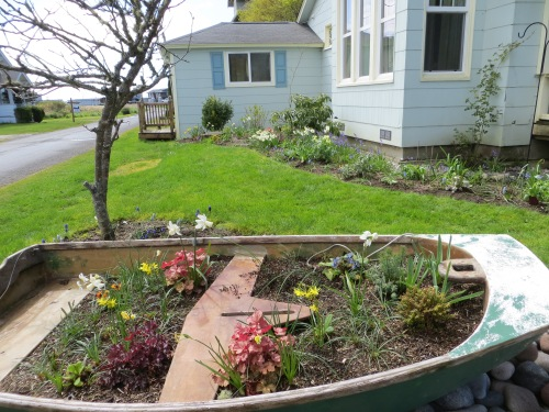 Larry and Robert's garden boat
