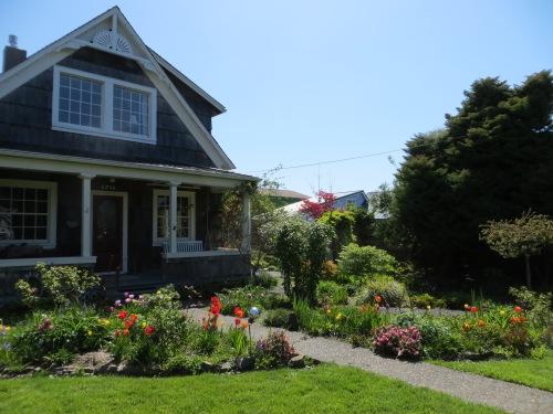 Patti's front garden