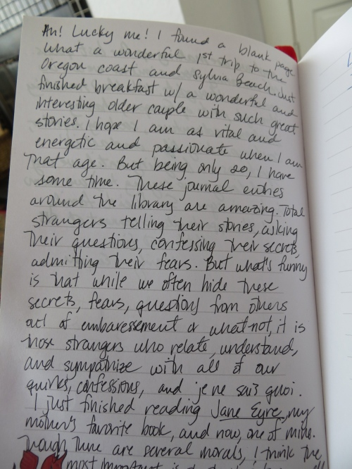 journal appreciation