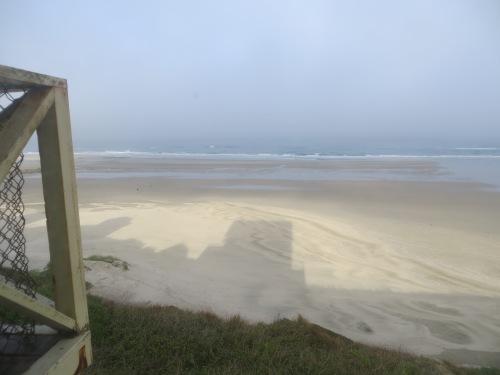 beach with Sylvia Beach shadow