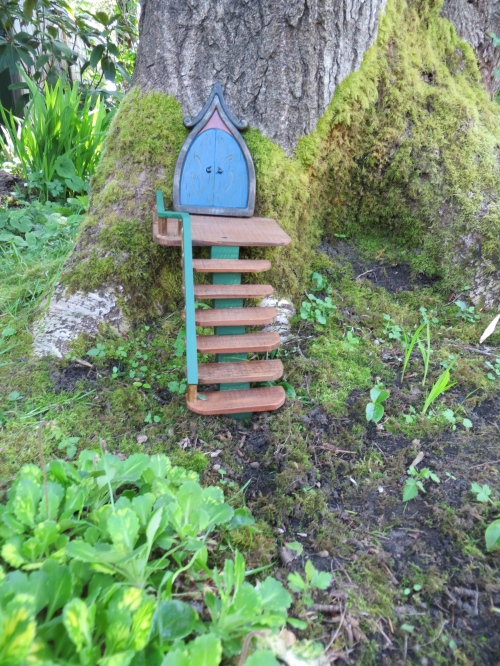 the new fairy door at Crank's Roost