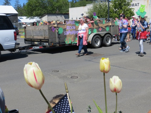 Tulips and Children's Parade