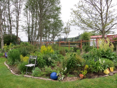 west garden, after