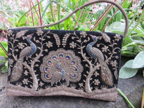 peacock purse from India