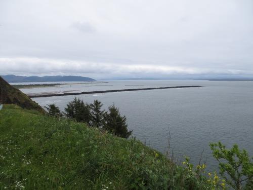view to the south toward Oregon
