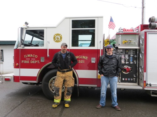 The Ilwaco Volunteer Fire Department