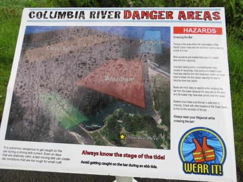 danger areas