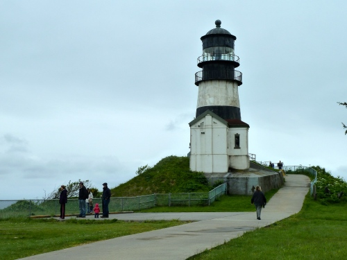 our goal: Cape Disappointment lighthouse