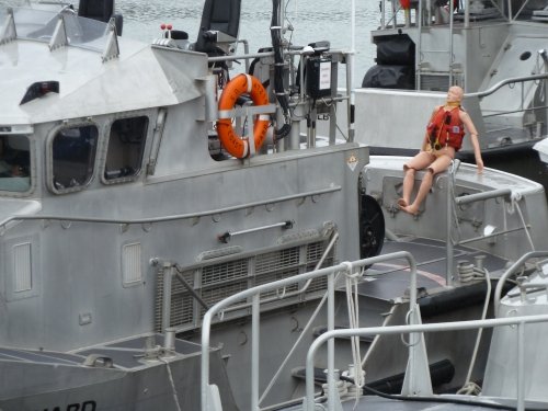 surf rescue dummy