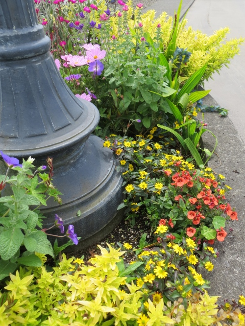 northernmost planter, east side of street