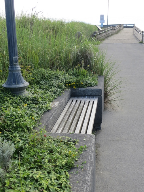 the westernmost planter