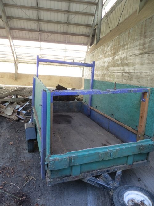 It all fit in here with Allan's expert loading.