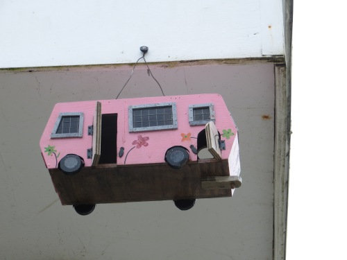 RV birdhouse