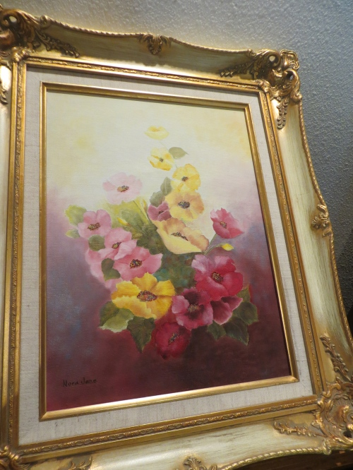 Nora's flower painting