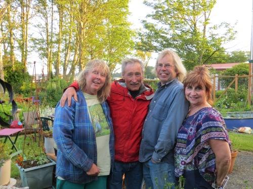 me, Ciscoe, Allan, Susie