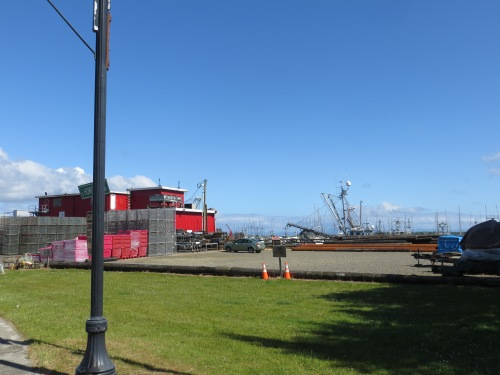 boat masts and Jessie's Fish Company