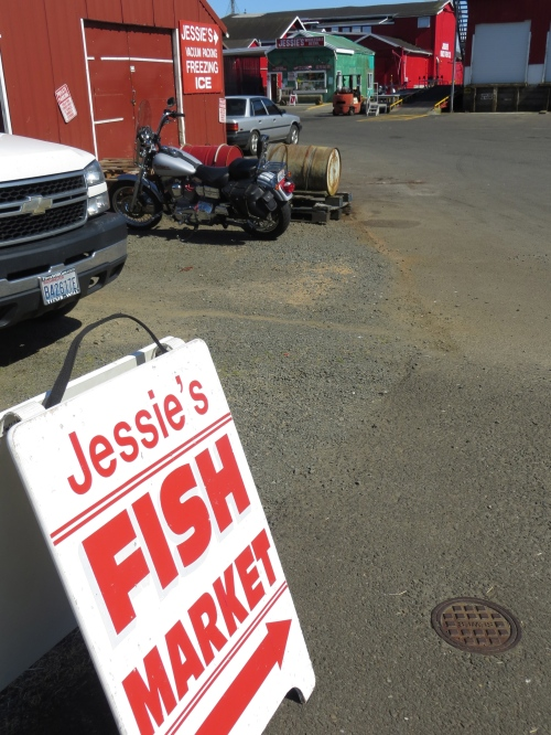 Jessie's Fish Co is a big employer here.