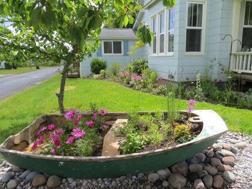 the garden boat