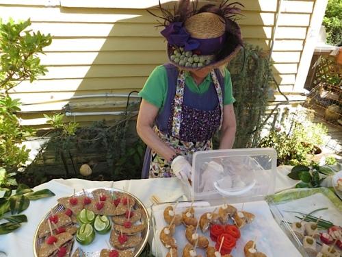 garden party hat