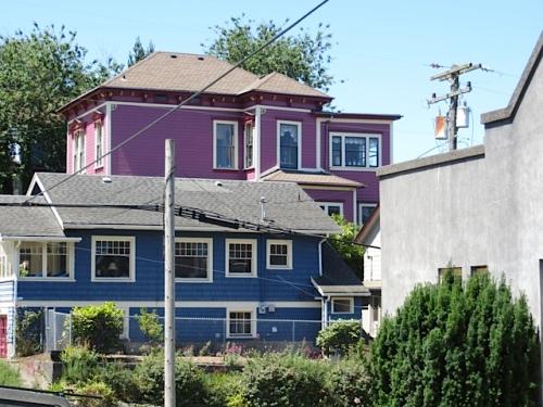 Oh!  A purple house!