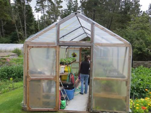 one of the the hoop houses