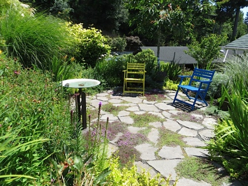 a pretty little patio
