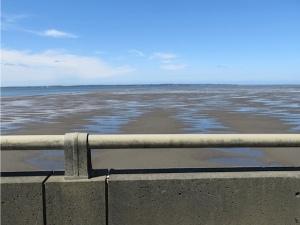 looking west toward the ocean
