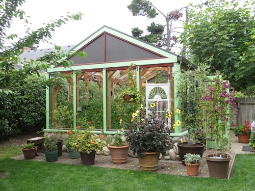 Wow!  What a greenhouse!