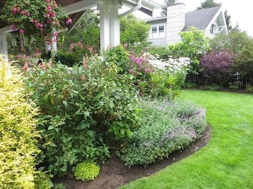 inside garden curve
