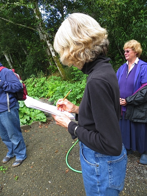Deanette is on her second year of veg gardening and took lots of notes.