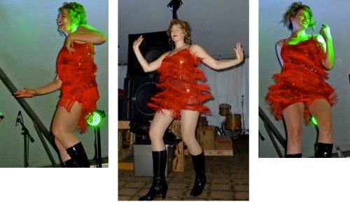 flamboyant dresses