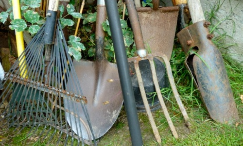 Allan's photo of garden tools