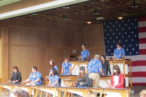 I like the Naselle Marimba Band very much.