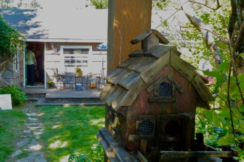 Allan noticed this bird house that got past me!