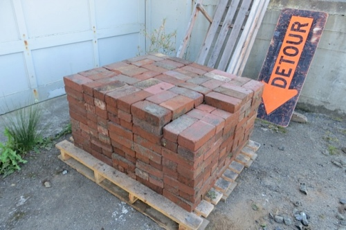 the pallet when we were done