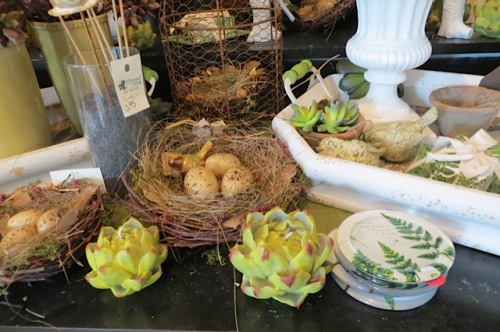 """Just look at these """"hens and chickens"""" candles!"""