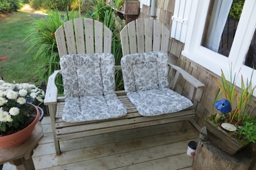 chairs on the front porch