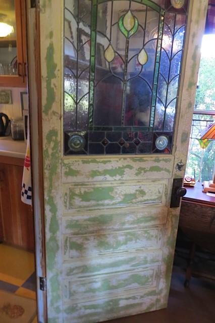vintage kitchen door