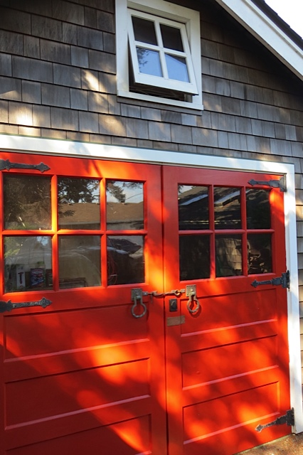 bright garage doors