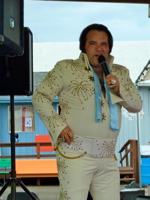 Allan got the best photo of Mr. Presley.